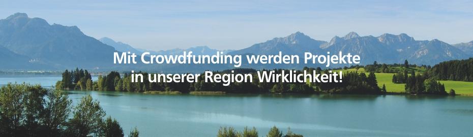 Crowdfunding - VR Bank Kaufbeuren-Ostallgäu