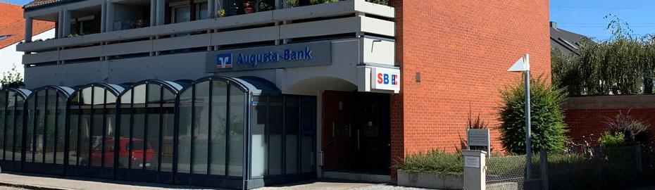 Geschaftsstelle Neusass Burgermeister Kaifer Strasse Vr Bank Augsburg Ostallgau Eg